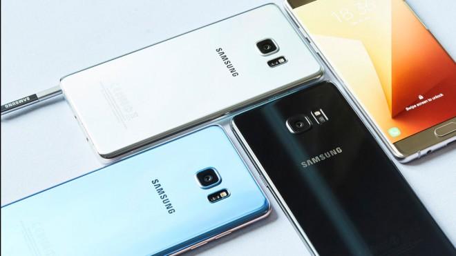 El famoso Galaxy Note 7 de Samsung.
