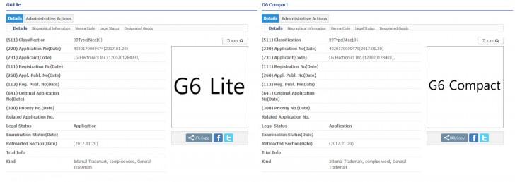 registros lg g6