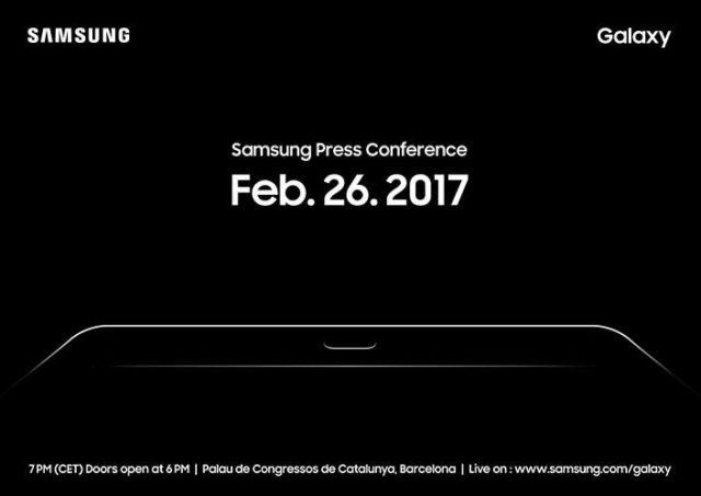 samsung invitación mwc 2017