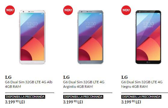 LG G6 precio