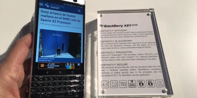 Our impressions with the BalckBerry KEYone at MWC